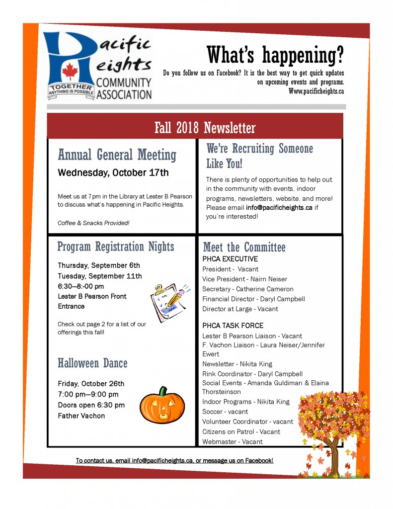 Fall 2018 Newsletter_Page_1